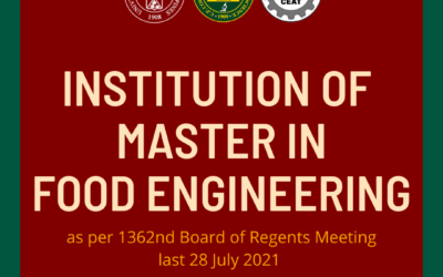 UP BOR approves Master in Food Eng'g in UPLB