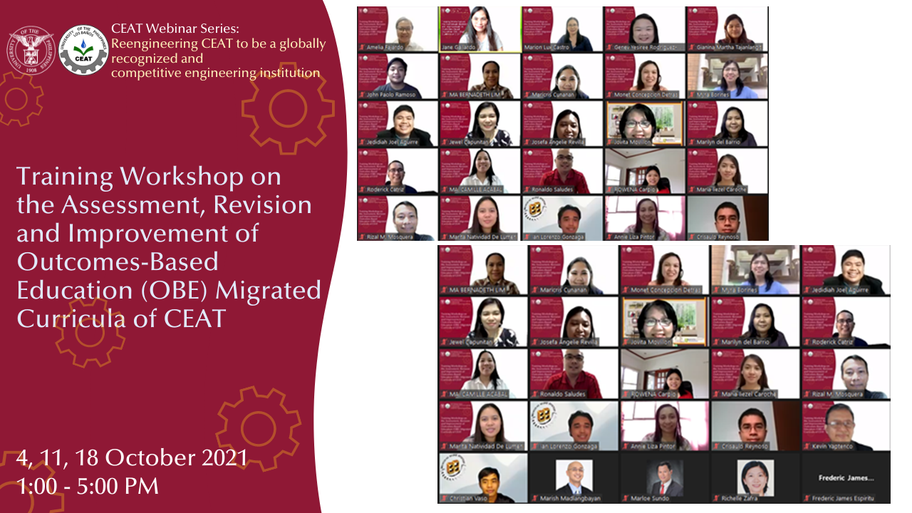 CEAT kicks off 2021 Outcome-Based Education (OBE) Workshop